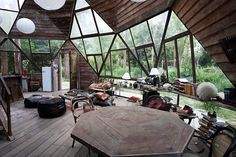 geodesic dome house geodesic dome home moon to moon geodesic domes geodesic dome house price Villa Design, Home Design, Design Hotel, Design Design, Bohemian House, Hippie House, Interior Architecture, Interior And Exterior, Architecture Panel