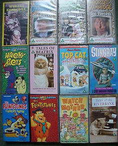 Collection of 18 #children's #video's vhs inc #worzel gummidge/thunderbirds etc,  View more on the LINK: 	http://www.zeppy.io/product/gb/2/201480849378/