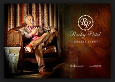 Rocky Patel at for an exclusive, private dinner event with our members Cruise Tickets, Yacht Cruises, One Time, Cigars, Special Events, Movie Posters, Smoking, June, Club