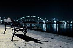Belgrade at night, Serbia  M.Petkovic