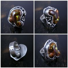 Hey everyone! I made a really nice fire agate ring not too long ago and managed to capture some of the progress with my camera. Here's how...