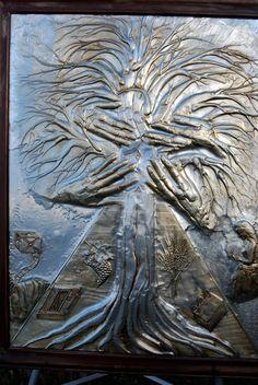 Tree promise of Jesus Christ  Ichthys by JJgaliciaMetalRelief, $7000.00