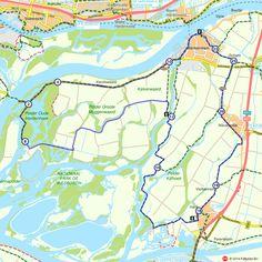 Fietsroute: Fietsen door de natte Biesbosch (http://www.route.nl/fietsroutes/115168/Fietsen-door-de-natte-Biesbosch/)