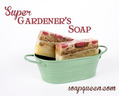 Handmade Soap for the Gardener from Bramble Berry and the Soap Queen.