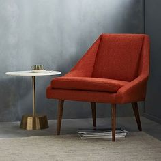 west elm's modern furniture features occasional chairs and more. Find living room chairs and tables and bring big style to the room.