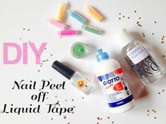 Nail Peel off Liquid Tape - diy - Women's Stuff