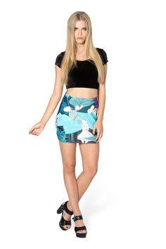 Returned-Wonderland Wifey Skirt - LIMITED › Black Milk Clothing