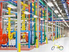 Behind the scenes at Google Headquaters