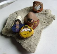 Painting Rock & Stone Animals, Nativity Sets & More: Simple Painted Rock Gifts Brighten the Day
