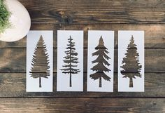 Excited to share this item from my #etsy shop: Stencil, Skinny Tree Stencil Bundle, Tree Stencil Bundle, Christmas Tree Stencils, Evergreen Tree Stencil, Farm Fresh Trees Stencil, #skinnytreestencil #evergreenstencil #stenciloftree #foreststencils #holidaystencils #diyfarmfreshtree #christmasstencils #treestencil Christmas Tree Stencil, Christmas Signs, Christmas Crafts, Christmas Decorations, Christmas Ornaments, Xmas, Skinny Tree, Rooster Stencil, Wood Crafts