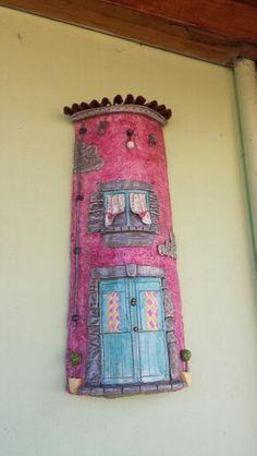Teja casa rosa