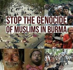 Stop genocide of rohingya people. I WILL SCREAM THIS FROM ROOF TOPS OF MY WHITE WEALTHY NEIGHBORHOOD