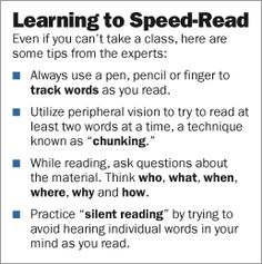 Speed Reading Tips and Techniques Now Available on the New Speed Reading Basics Website Speed Reading, Reading Tips, Reading Skills, Writing Tips, Reading Goals, Study Help, Study Tips, Good Books, Books To Read