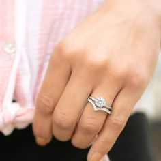 Simple Women's Wedding Bands | Unique Women's Wedding Bands | Women's Wedding Bands with Engagement Ring | Inexpensive Women's Wedding Bands | Rose Gold Women's Wedding Bands | Non-diamond Women's Wedding Bands | Stacked Women's Wedding Bands Womens Wedding Bands, Wedding Rings For Women, Wedding Ring Bands, Timeless Engagement Ring, Round Solitaire Engagement Ring, Chevron, Rose Gold, Diamond, Simple