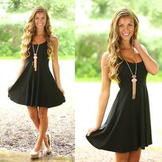 Seize The Day Dress in Black