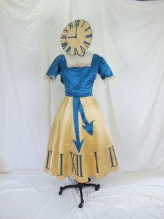 Early 1900s Costume Clock Dress