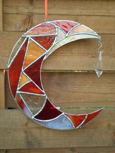 Stained Glass Moon with Prism