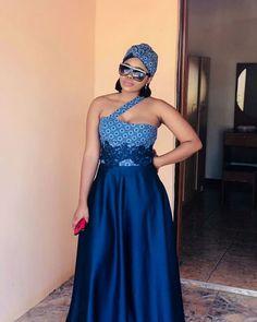 beautiful shweshwe dresses 2019 for black women - shweshwe dresses African Prom Dresses, African Wedding Dress, African Fashion Dresses, African Dress, African Traditional Wedding Dress, Traditional Wedding Attire, Traditional Outfits, Shweshwe Dresses, Trends