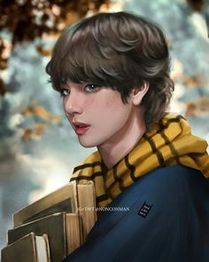 Read Tae collection from the story Taekook Fanarts fluff / by GCmoon (MoOnTae) with reads. He is so beautiful. Taehyung Fanart, Vkook Fanart, V Taehyung, Namjoon, Vkook Memes, Les Bts, V Bts Wallpaper, Donia, Bts Drawings