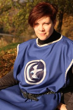 READY TO SHIP  Tunic house Arryn Ice and Fire by RavenThreadsLab