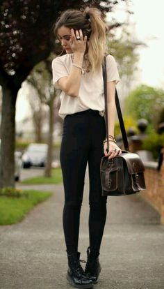 Smart shirt with black jeans