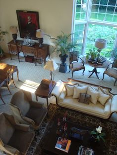 The Polohouse: Living Room