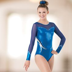 Outshine the competition in premium metallic leotards from Dancewear Solutions.