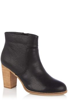 Alessia Stacked Heel Ankle Boot #mypersonalstylist picks as worn by store member Michelle