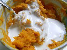 Paleo treat...sweet potatoes, cinnamon, and coconut milk.