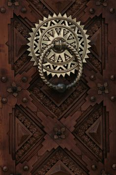 beautiful door knocker