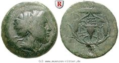 RITTER Mysien, Kyzikos, Kore, Bukranion #coins