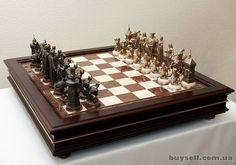 Chess Set Unique, Sculpture Art, Glass Art, Chess Boards, Sport, Games, Deporte, Sports, Gaming