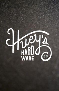 Huey's Hardware Branding by Ricky Lester at Coroflot.com