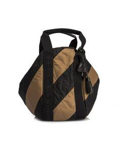 SONIA RYKIEL Striped Large Tote. #soniarykiel #bags #hand bags #nylon #tote