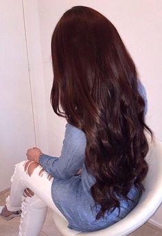 This hair colour is gorge!