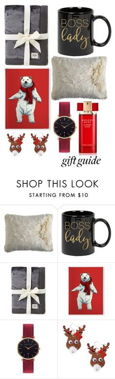 """""""Holiday Gift Guide: Your Squad"""" by mea213 ❤ liked on Polyvore featuring beauty, Pier 1 Imports, UGG, Abbott Lyon, claire's and Estée Lauder"""