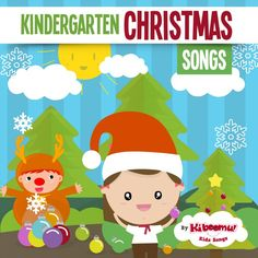 From gingerbread men to elves, from basic subtraction to opposites, colors, shapes and body parts, Kindergarten Christmas Songs features simple and wonderfully paced Christmas songs that teach learning concepts with lots of movement. Christmas Songs For Kids, Christmas Program, Kindergarten Christmas, Christmas Books, Christmas Music, Christmas Classics, Santa Claus Is Coming To Town, Kindergarten Classroom, Classroom Ideas