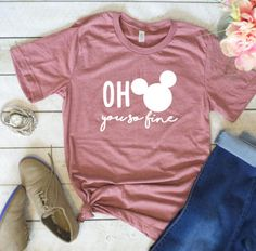 Oh mickey you so fine shirt, adult disney shirt, adult tshirt, minnie mouse Disney Mode, Disney Fun, Disney Magic, Adult Disney Party, Disney Crafts, Disneyland Trip, Disney Vacations, Disney Trips, Disneyland Outfits
