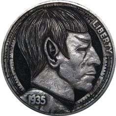 Spock Hobo Nickel