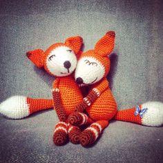 Лисята #амигуруми #игрушкиручнойработы #вязаныеигрушки #вязание #вязаныеизделия #handmade #игруш #подарок