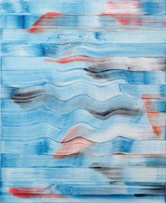 """contemporary-art-blog: """" Bernard Frize, Vernal, 2014 """""""