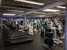 The amazing Majestic Gym in Boscombe, Dorset.