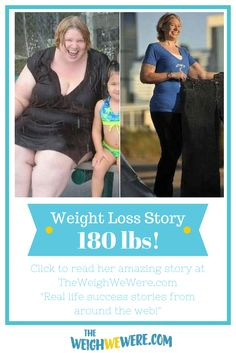 I Lost Weight: Becky Sigurnjak Lost 180 Pounds And 'Can't Sit Still'!  Read her story...
