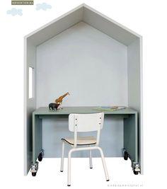 """Shop de meubelen van """"Bedhuisje"""" NU met korting via Kinderkamerstylist.nl"""