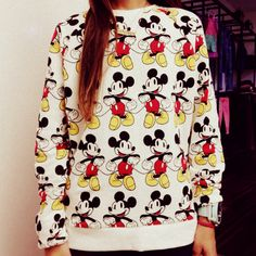 my mickey mouse sweater <3