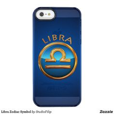 Libra Zodiac Symbol Uncommon Clearly™ Deflector iPhone 5 Case | 30% OFF Spooktacular Essentials: coasters, favor boxes, wine charms, serving trays, posters, tablecloths, table runners, plates, platters, packs of cake pops, packs of cookies, chocolate boxes, frosting rounds, invitations, greeting cards, photo cards, postcards, and/or cheese boards - USE Code ZSPOOKYSCARY | 15% Off All Other Zazzle Products. | Valid through October 8, 2015 at 12:59:59 PM PT