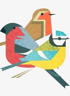 Robin bird illustration charley harper 59 ideas for 2019 Art And Illustration, Vogel Illustration, Illustrations, Pattern Illustration, Vogel Clipart, Bird Clipart, Vogel Silhouette, Vogel Quilt, Charley Harper