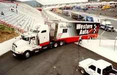 Darrell Waltrip Western Auto Hauler