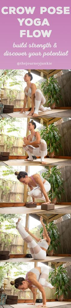 Crow Pose Yoga Flow