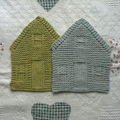Nine Hundred House Dishcloth Pattern By Amanda Ochocki